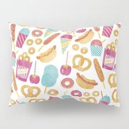 Carnival Food  Pillow Sham