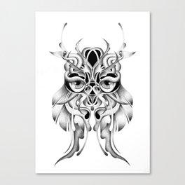 GRAPHITE OWL Canvas Print