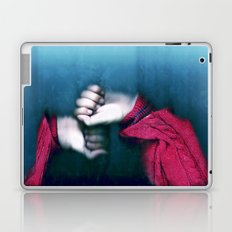 playing in the rain Laptop & iPad Skin