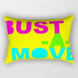 Bust-a-Move Rectangular Pillow
