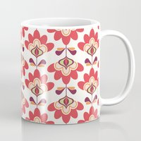 bianca green Mugs featuring Bianca by Just Kate Designs