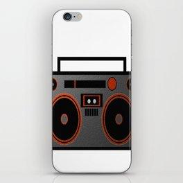 Boombox iPhone Skin