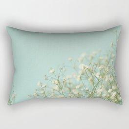 Baby Blue Rectangular Pillow