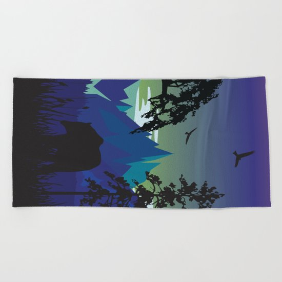 My Nature Collection No. 44 Beach Towel