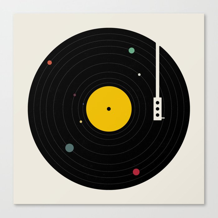 Music, Everywhere Leinwanddruck
