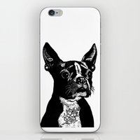 mother iPhone & iPod Skins featuring Mother by John C Thurbin