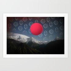 Space Japan Art Print