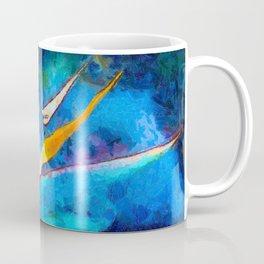 Bird Of Paradise Plant art Coffee Mug