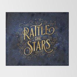 Rattle the Stars Throw Blanket