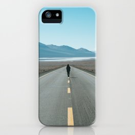 Definitely on the road iPhone Case