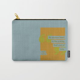 An Anxious Heart Carry-All Pouch