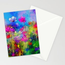 Just living is not enough... one must have sunshine, freedom, and a little flower. Hans Christian A Stationery Cards