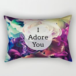 I Adore You Rectangular Pillow