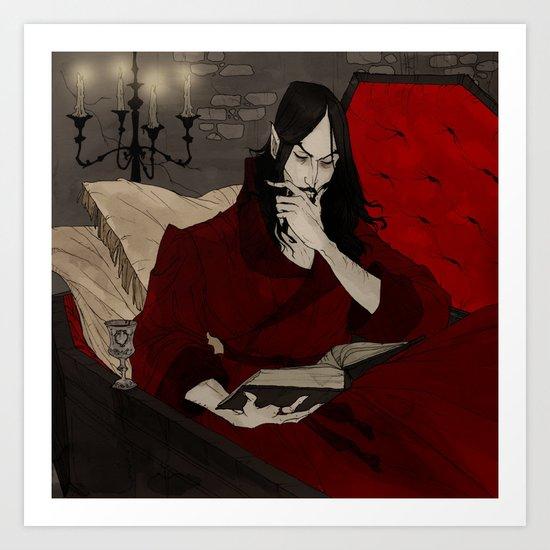 Dracula Reading by abigaillarson