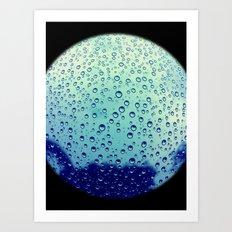 Never Ending Rain Art Print