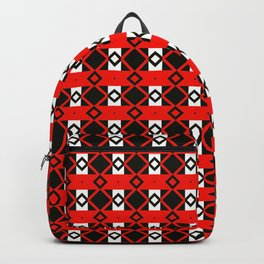 Geometric Tribal Backpack