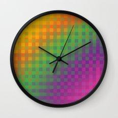 Color Check!  Wall Clock
