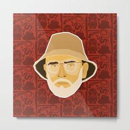 Indiana Jones - Sean Connery Metal Print