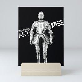 Weaponize Art Mini Art Print