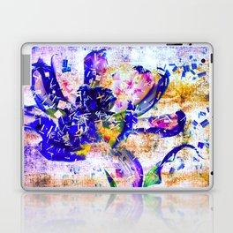 Shattered Blues Laptop & iPad Skin