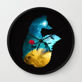 The Most Beautiful Thing (dark version) Wall Clock