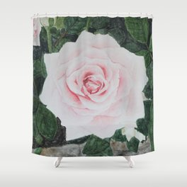 Katie's Rose Shower Curtain