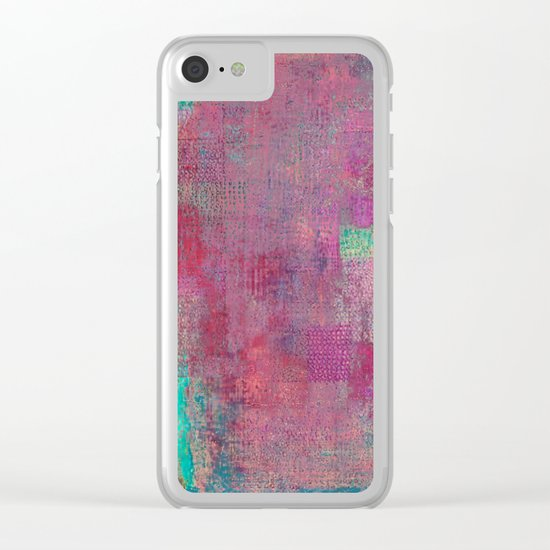 Lake Retba (Lac Rose) Clear iPhone Case