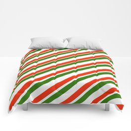 TEAM COLORS 1...Gren ,red,white Comforters