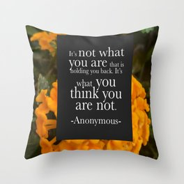 What Do You Think?! Throw Pillow