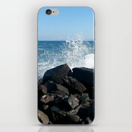 Sea wave iPhone Skin