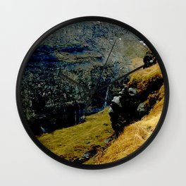 Gorilla in the Mist Wall Clock