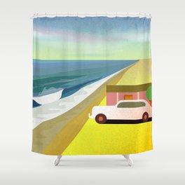 Mexican Honeymoon 2 Shower Curtain