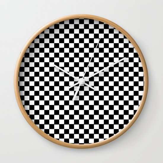damier Wall Clock