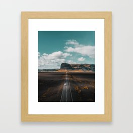 Epic Icelandic Roadtrip Framed Art Print