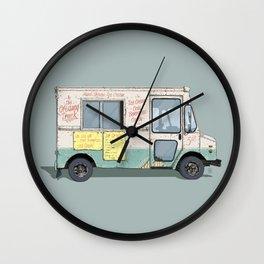 American Ice Cream Truck Wall Clock