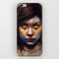 anna iPhone & iPod Skins featuring Una by Michael Shapcott