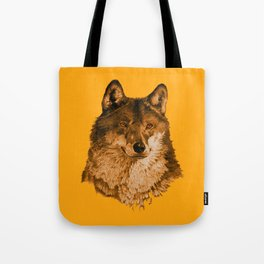 Season of the Wolf - A Study in Gold1 Tote Bag
