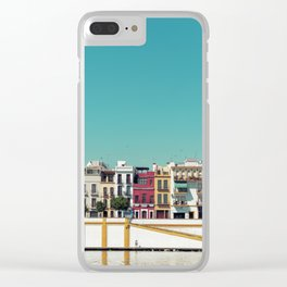 Triana, the beautiful Clear iPhone Case