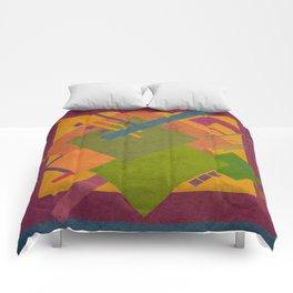 Geometric illustration 32 Comforters