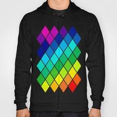 Tetrahedral Rainbow Hoody