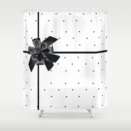 Gifted: Black Tie Affair Shower Curtain
