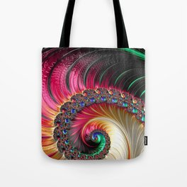Electric Shell Tote Bag