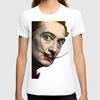 salvador dali T-shirts featuring Salvador Dali by mark ashkenazi