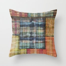 Abstract windows Throw Pillow