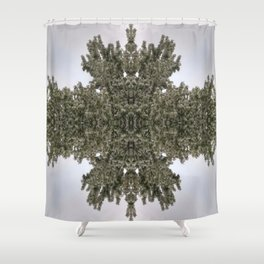 FlowersFlake Shower Curtain