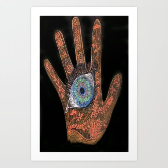 It's in our Hands Art Print