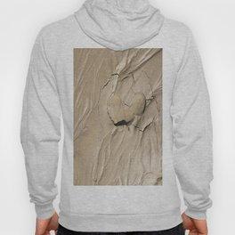 FootPrint in Hidden Sinking Sand - Crack my Heart Hoody