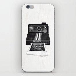 Se souvenir des belles choses iPhone Skin