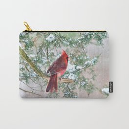 Look Beyond: Northern Cardinal Carry-All Pouch