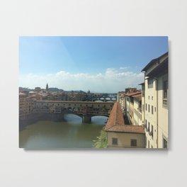 Ponte Vecchio, Florence Metal Print